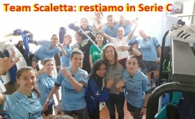 Play-out vincenti per il Team Scaletta che conquista la permanenza in Serie C: 5-2 al San Lorenzo.