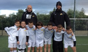 Accademia Messina, categoria Under 8 Calcio a 6,  campione provinciale del CSI MESSINA